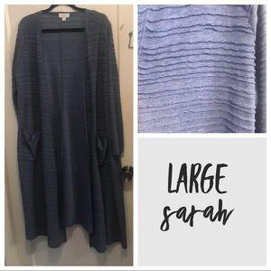 Blue Ruffle Large Sarah